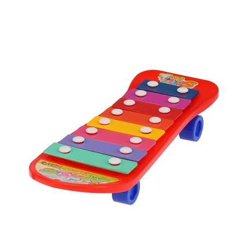 Coolplay Baby 8 Tones Colorful Hand Knock Piano Enlightenment Musical Toy