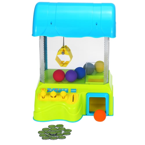 Children Claw Machine Toy Game Grabber with Light and Music