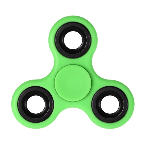 DIY Tri Fidget Spinner 360°Hand Finger Spinner Hybrid  Rotation Bearing Spin Widget Focus Toy Nylon PA Material for ADHD Anxiety Boredom Adults Children Killing Time Red - Spinner Deal