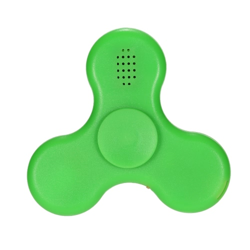 Rechargeable LED Fidget Toys EDC Focus Stress Reducer Relief Toy for Kids Adults Ultra Durable High Speed BT Speaker Portable Spinner
