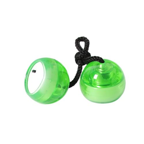 Fidget Begleri EDCパラシュートコードツールLEDストラップビーズスポーツ玩具Thumb Chucksナックルズフィンガーヨーヨー