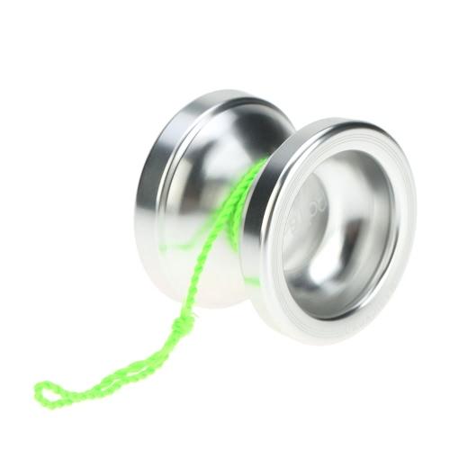 Professionelle Magic Yoyo T6 Regenbogen Aluminiumlegierung-Metall Yoyo 8 Ball KK mit String Lager für Kinder Silber