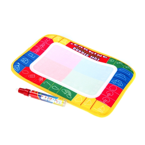 Kids Drawing Water Mat Tablet Aqua Doodle 29 * 19cm Multicolour Drawing Board + Pen