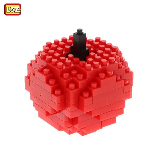 LOZ ナノ ブロック マイクロ建築ブロックおもちゃミニ ダイヤモンド ブロック フルーツ シリーズ ギフト DIY おもちゃ 9289