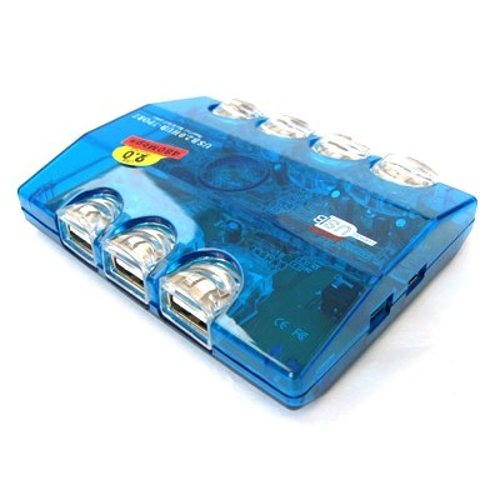 7 portas USB 2.0 HUB
