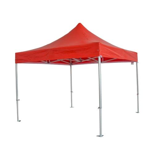 Tenda pieghevole di alluminio rosso di 3 * 3m