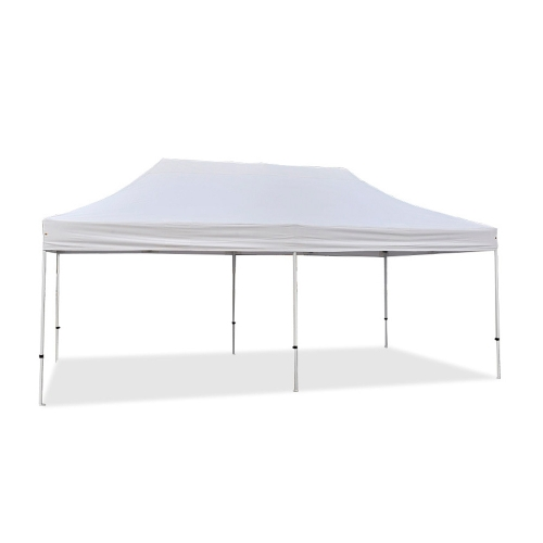 3x6m Polyester 300g/m² PVC Coated Folding Tent 32mm Tube White