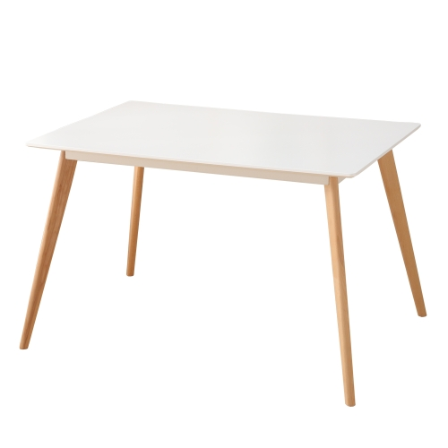 table manger scandinave pour 4 personnes blanc. Black Bedroom Furniture Sets. Home Design Ideas