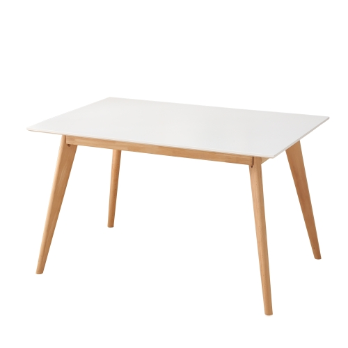 Table de salle à manger extensible 6-8 personnes design scandinave