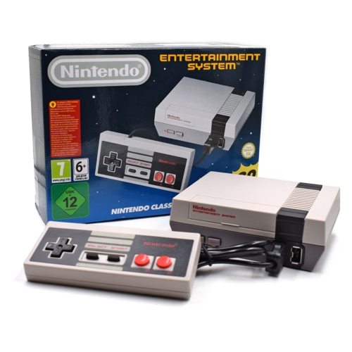 Classic Edition NES Mini Game Console Clone Handheld Player con giochi integrati 30 - Versione HD
