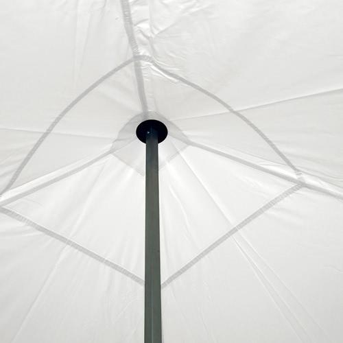 nur wei komplettset faltpavillon 4x4m alu 40 polyester wasserdicht interouge. Black Bedroom Furniture Sets. Home Design Ideas