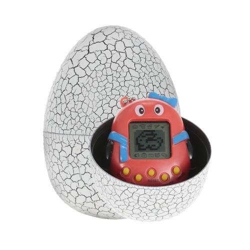 漫画電子ペットゲーム玩具ハンドヘルドバーチャルペットキーホルダー恐竜卵バーチャルペット子供おもちゃギフト