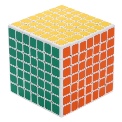 Professional Shengshou Mini 7 * 7 * 7 Magic Cube ABS Ultra-smooth Cubo Puzzle Speed Twist Educational Toy White Ground