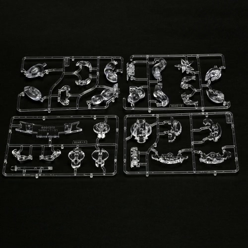 Coolplay 3D Crystal Blocks Assembly Puzzle Translucent DIY Puzzle Building Blocks Kid's Toy Lovely Gift for Children Adult Special Birthday Present Christmas Gift
