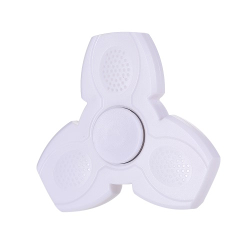 BT Speaker Rechargeable LED Fidget Toys EDC Focus Stress Reducer Relief Toy Ultra Durable High Speed Portable Spinner for Kids Adults