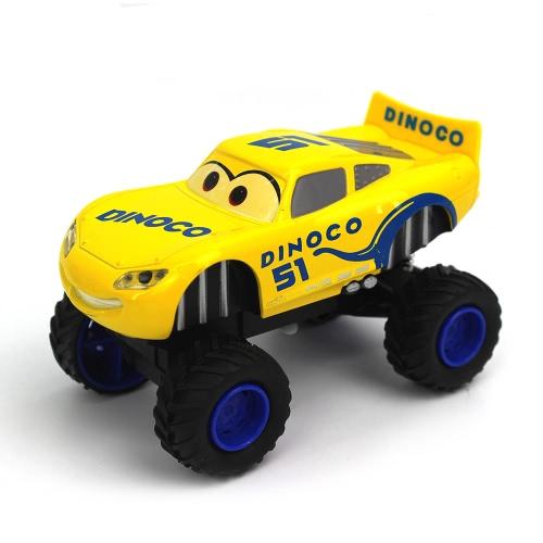 ディズニーピクサーカーズライトニングマックイーンダイキャスト合金プルバック車両モンスタートラックプルバックおもちゃ