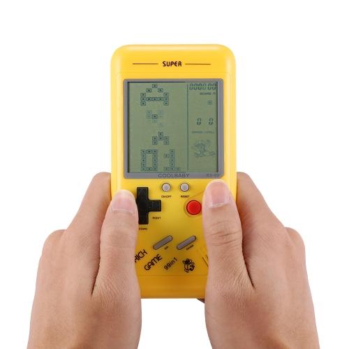 Pocket Handheld Spielekonsole 2.2in LCD Mini Beweglicher Ziegelstein-Spieler