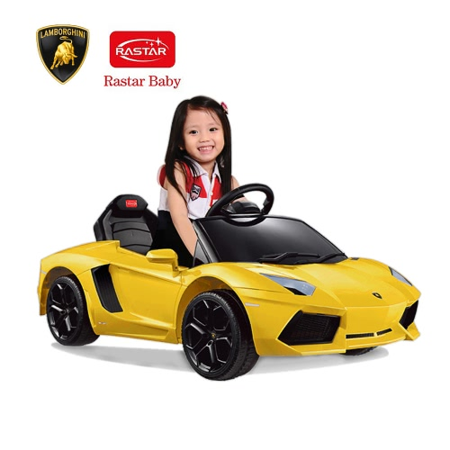 Rastar Kids 6V Electric Ride On Toy Car Lamborghini Aventador LP700 4 Four  Wheel Vehicle