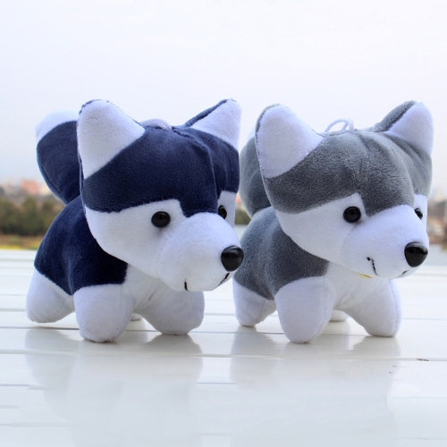 Super Cute Little Husky Dog Doll Toy Animals Cartoon Plush Toys