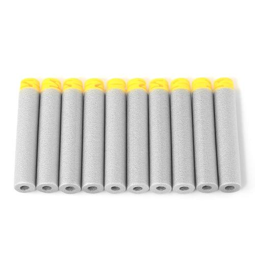 50個のZヘッドの詰め替えダーツハードソフトチップフラットソフトヘッドフォーム弾丸パックNerf Nストライクエリートコンパチブル子供のおもちゃ銃