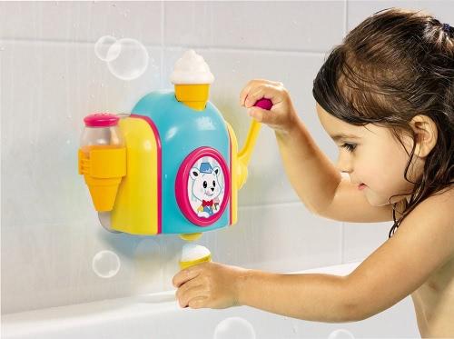 TOMY E72378 Kids Bath Foam Cone Factory Baby Bath Toy Toddler Toys