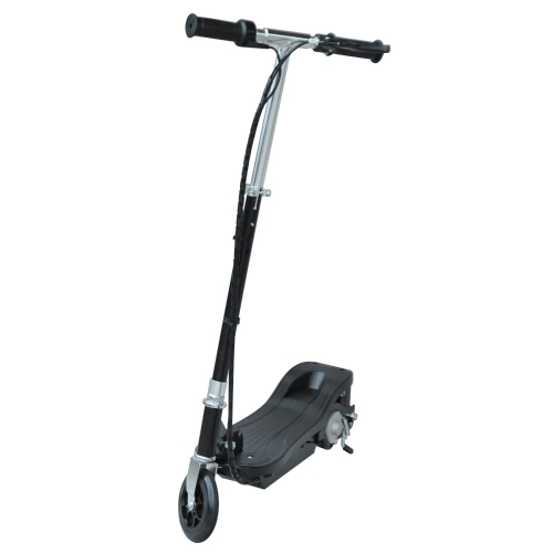24V Kids Ride-on plegable Scooter eléctrico motorizado 120W-negro