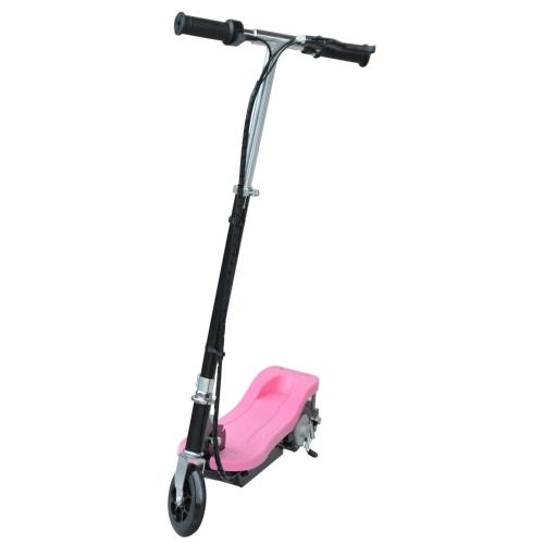 24V Kinder Ride-on Elektroroller Klappfahrrad motorisiert 120W-Pink