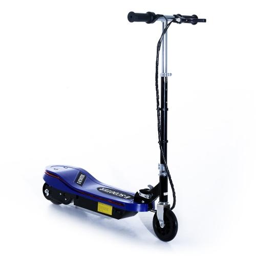 Aosom 120W Kids pieghevole scooter elettrico con luci a LED - blu