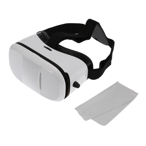 Virtual Reality 3D VR Glasses Head-mounted Google Cardboard 3D VR Headset Video Movie Game Glasses with Headband for iPhone 6S 6 Samsung S6 Note 5 LG / All 4.0 ~ 6.0