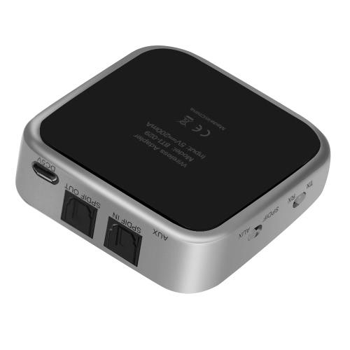 BT 4.1 Передатчик и приемник 2 в 1 Беспроводные стерео аудио адаптер с оптический Toslink / SPDIF и Aux 3,5 мм Поддержка APTX APT-X