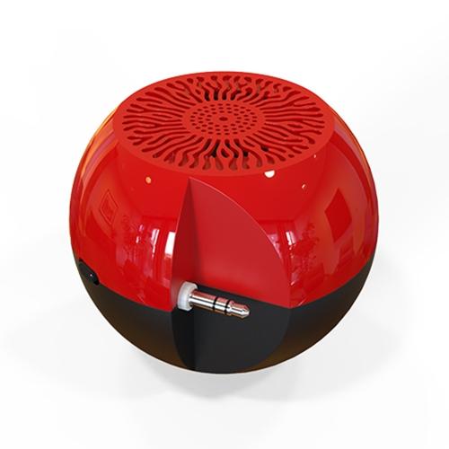 G5 Portable Haut-Parleur 3.5mm Audio Plug Mobile Téléphone Support Haut-Parleur AUX-IN Stéréo Mini haut-Parleur Téléphone Support Son Amplificateur pour Smartphone Tablet PC