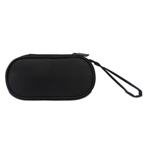 BUBM Boîtier de Rangement pour Sony PSV Sac de Transport Protecteur Portable Voyage Organisateur Cas Double Compartiment pour PSV Jeu Console Cartes Câble de Données Autres Accessoires