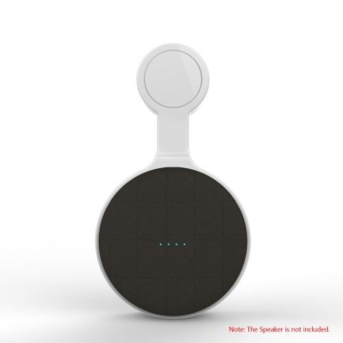 Wall Mount Stand Hanger For Google Home Mini Voice Assistants Speaker Compact Holder Case Plug in Kitchen Bathroom Bedroom