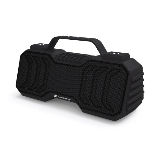 NewRixing NR-2029 Bluetooth 5.0 Speaker 6W Stereo Sound Box with Mic Portable Outdoor Speakers Supports TF Card FM Radio Aux Input for Home Outdoors Travel