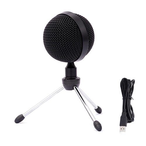 USB Condenser Microphone Computer Microphone for Pod-casting Recording Voice-overs Interviews Conference Calls