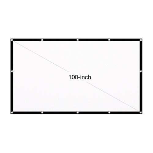 Portable HD Projector Screen 16:9 Projection Screen