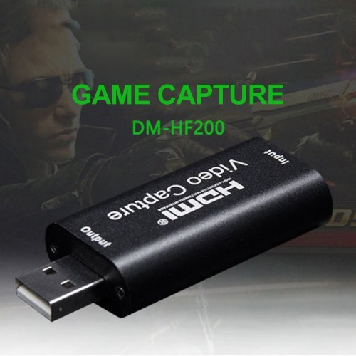1080P Video Capture Card USB 2.0 for Game Video Live Streaming Tool
