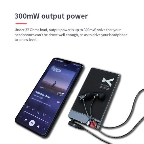 XDUOO XP-2 Pro Bluetooth HiFi Portable Headphone Amplifier Decoder AK4452 USB DAC NFC LDAC XU208 CSR8675 Bluetooth Chip