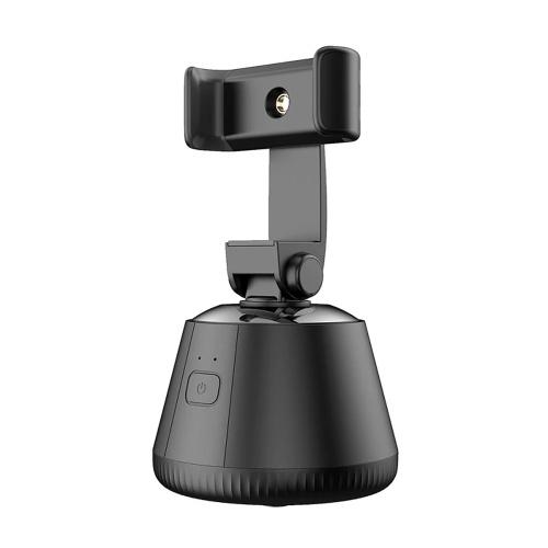 360 ° tragbarer Selfie-Halter Objekt-Gesichtsverfolgung Smart Shooting Gimbal Smartphone-Halter für Live-Streaming Vlog Selfie-Videoaufzeichnung
