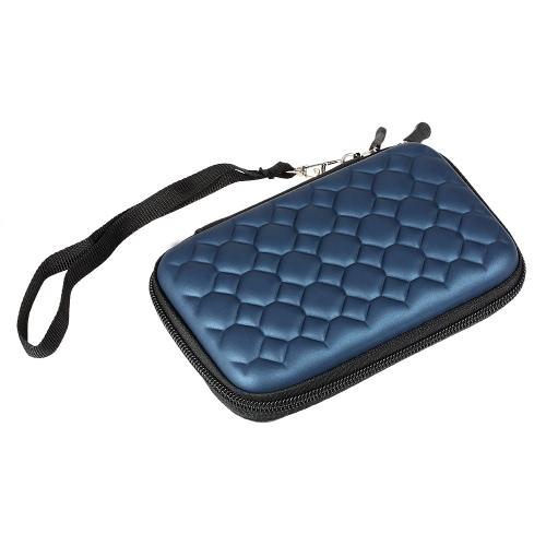 Estojo para saco de armazenamento para disco rígido Caixa de armazenamento protetora portátil com tiragem manual Design de transporte