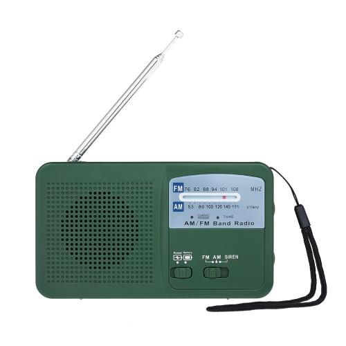 RD369 Radio FM à double bande d'énergie solaire