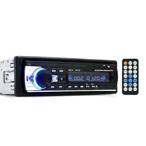 Wireless Car Radio Stereo Media Player 4 Alto-falante BT AUX USB RDS MP3 MVH-290BT NO CD