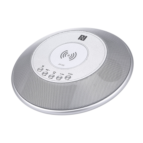 Беспроводное зарядное устройство BT Speaker W / Time Display