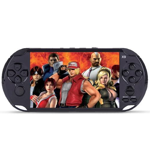5.1 '' Grande Tela Handheld Game Player Portátil Video Game Console Construído em Jogos Clássicos de Suporte de Saída de TV AV