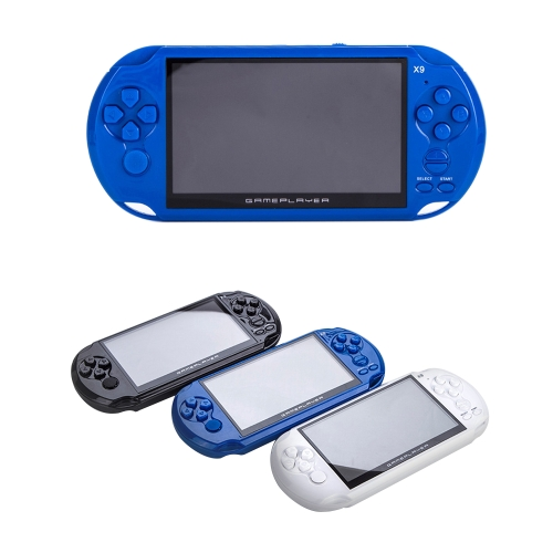 Immagine di 5.1'' Large Screen Handheld Game Player Portable Video Game Console Built in Classic Games Support AV TV Output