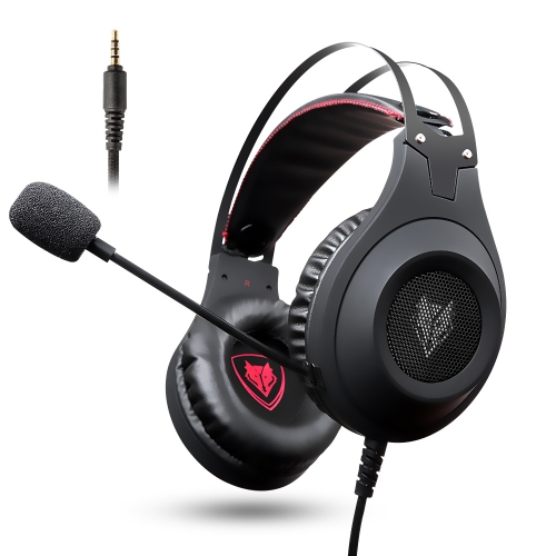 NUBWO N2 3.5mm Wired Over Ear Gaming Headset with Microphone