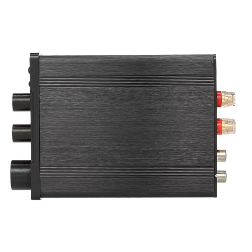 30W + 30W HiFi Audio Digital Amplifier Bluetooth 4.2 Amplificador de potencia Stereo Amp Treble Bass Ajuste Soporte U Disk AUX Input para 2.0 Channel Speakers