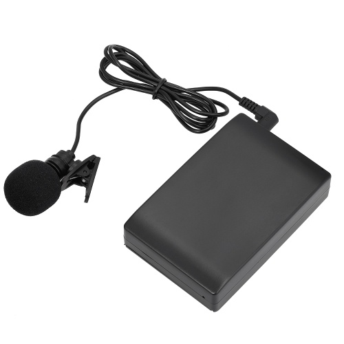 Mini Wireless Clip-on FM-Mikrofon Sprachverstärker
