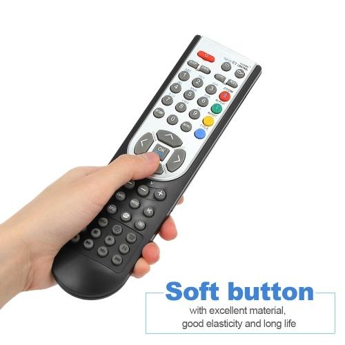 RC1900 Remote Control for OKI HITACHI ALBA CELCUS LUXOR GRUNDIG SHARP JMB TELEFUNKEN BUSH TECHWOOD AKAI NEVIR SANYO LCD LED Plasma Smart TV Black