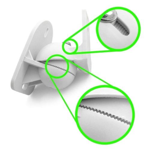 2PCS Динамик Крепление Универсальный Настенный Кронштейн Динамик 7lb Емкость Поворотный Наклон с Установкой Оборудования